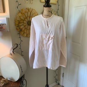 Oh my gauze! Rare tunic sz L/XL
